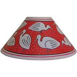 lampshade_-_ibis_red