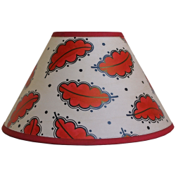 lampshade_-_oak_leaf_beige_red