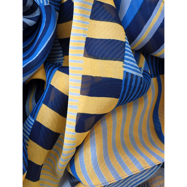 indian_stripe_grey_yellow_blue_crumple