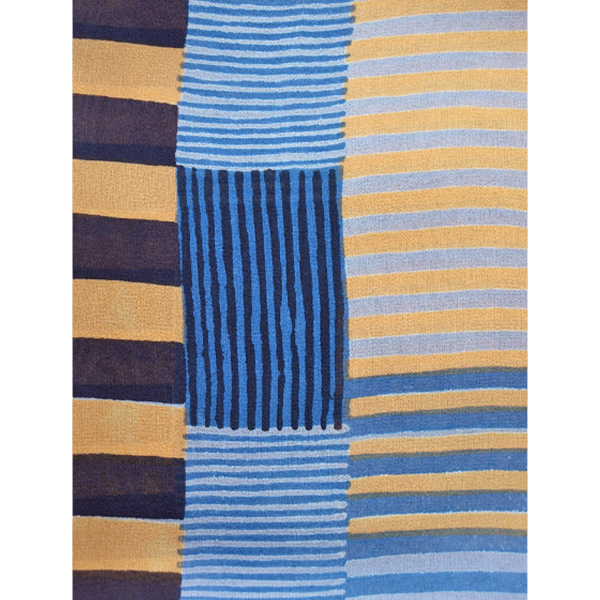 indian_stripe_grey_yellow_blue_detail