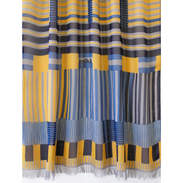 indian_stripe_grey_yellow_blue_flat_scarf