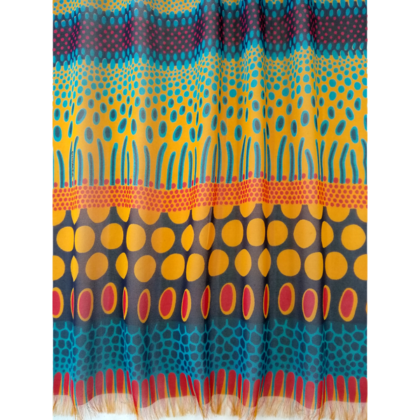 tropical_spot_-yellow_red_blue_flat_scarf